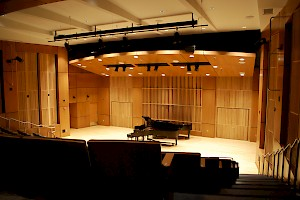 Louise E. Addicott and Yatish J. Joshi Performance Hall - Indiana University