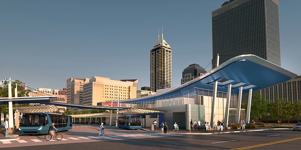IndyGo Bus Transit Center